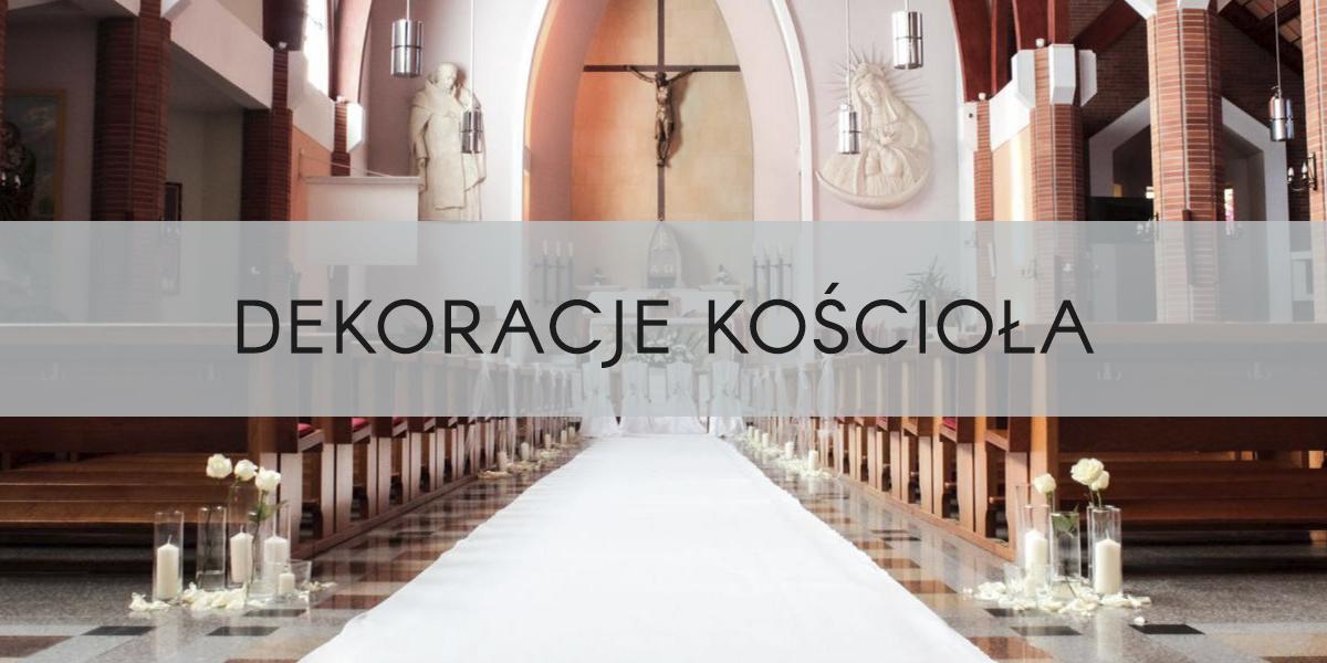 Dekoracje kościoła i ołtarza