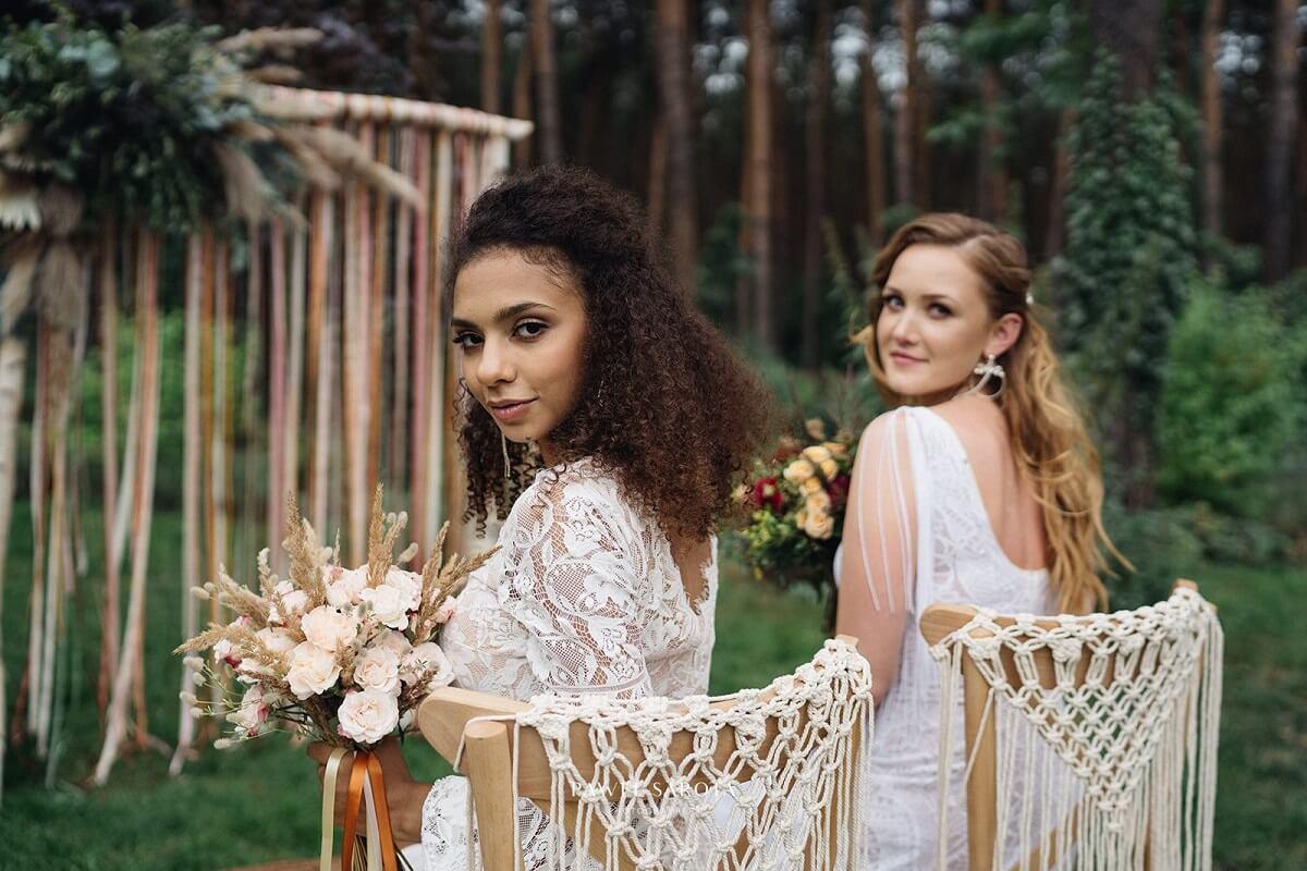 Lovegarden pracownia florystyczna - bukiety ślubne w stylu boho