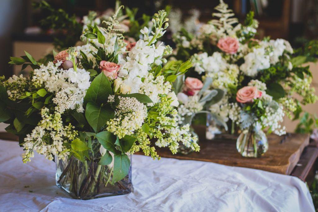 Dekoracja ślubna na wrzesień