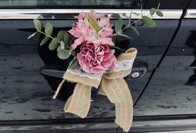 dekoracja samochodu na ślub warszawa